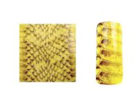 Fake Snake Skin - Yellow