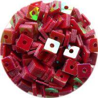 Konfety štvorčeky - 7. bordové