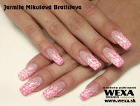 Farebný uv gél na nechty - Standard Sweet Pink