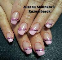 Farebný uv gél na nechty - Standard Pastel Pink