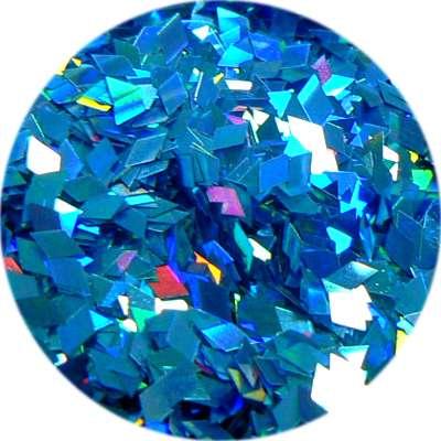 Konfety piky - V tyrkysové metal hologram L82.3