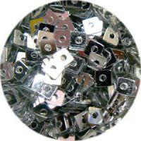 Konfety štvorčeky - V strieborné 15