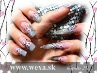 Stamping Nail Art platnička - XL D
