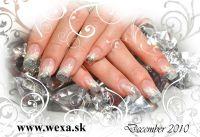 Farebný Glamour UV gel - Arctic Pearl