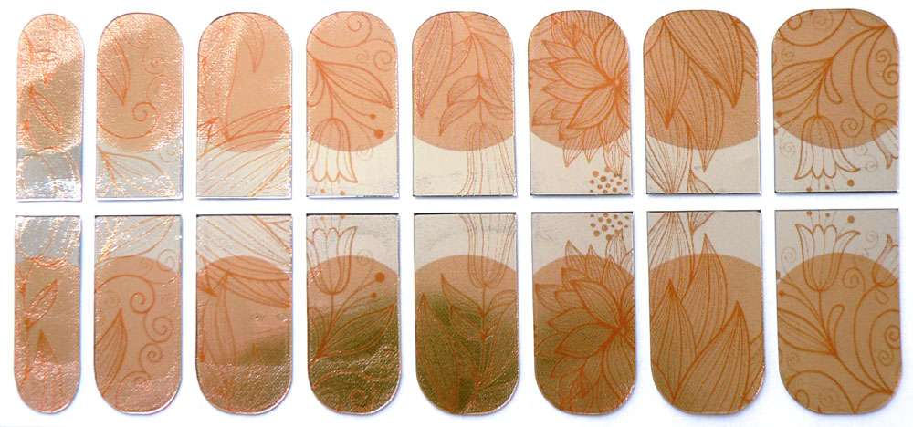 Nail Foil Patch 24