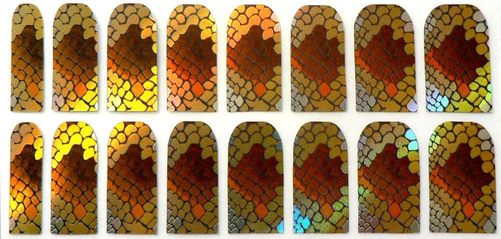 Nail Foil Patch 27 snake