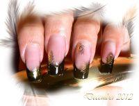 Vodolepky zlaté - C045 Pávie pierka