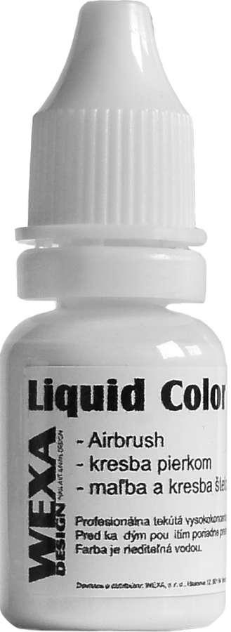Liquid Color - WEXA nr. 2 tekutá farba na nechty krycia biela