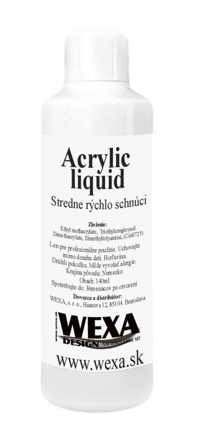 Liquid - monomer pre modeláciu akrylových nechtov