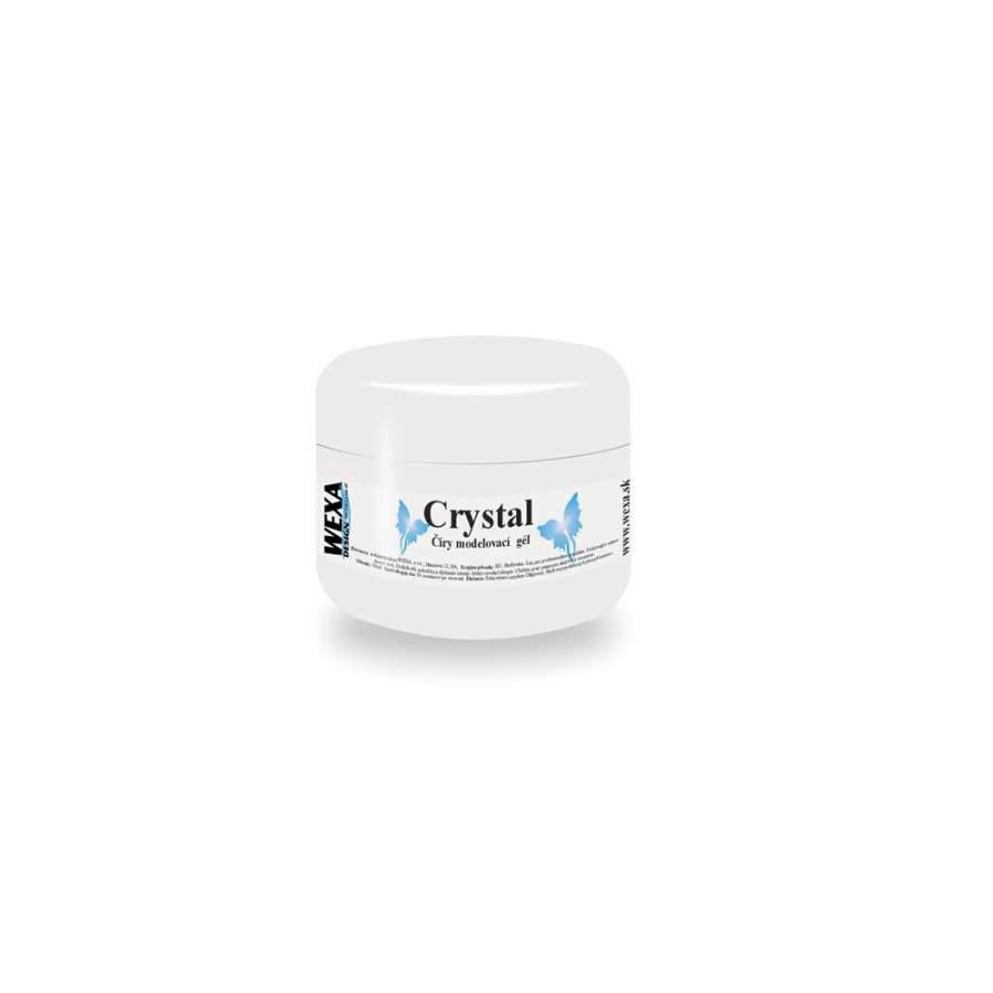 Modelovací UV gél na nechty Crystal - 5ml