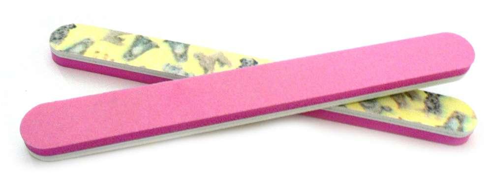 Pilník 2 v 1 ružový