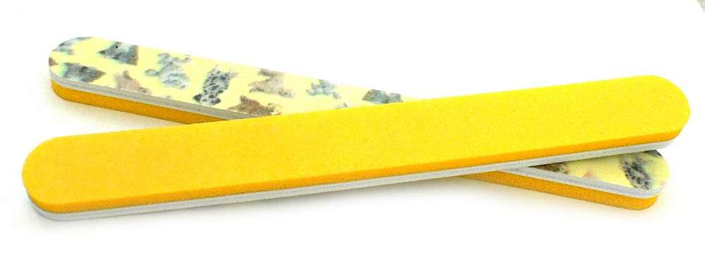 Pilník 2 v 1 žltý