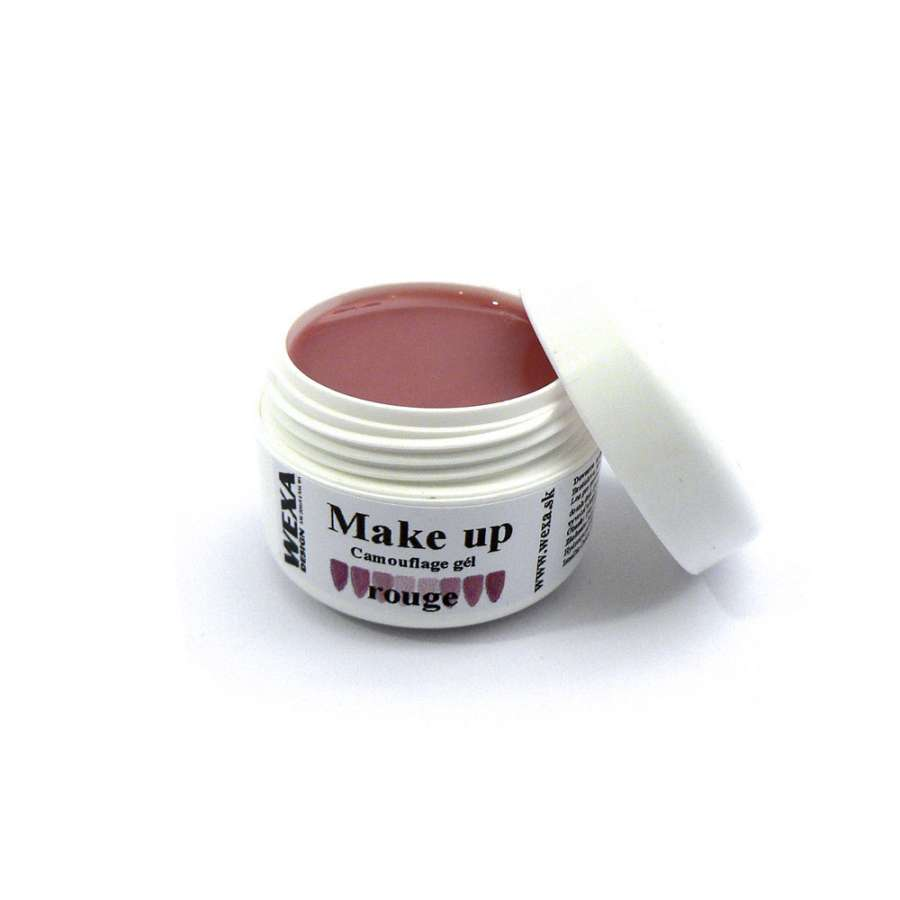 Rouge make-up UV gél na nechty - 5ml