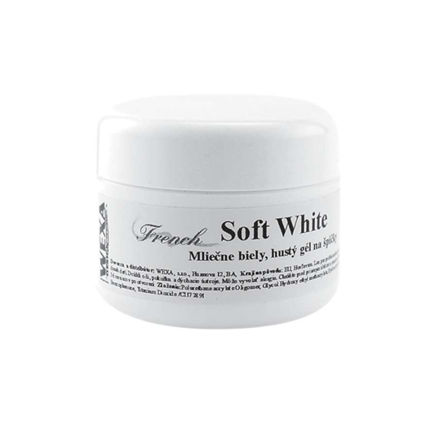 UV gel French Soft White - 15ml