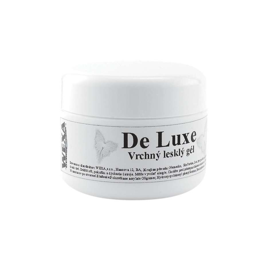 Vrchný lesklý UV gél De Luxe - 15ml