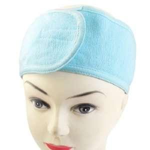 Froté kozmetická čelenka - modrá