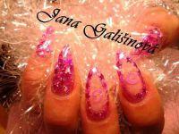 Konfety na nechty hviezdičky slim - 4