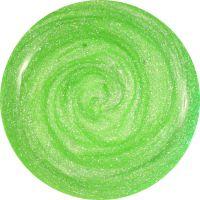 Neon UV gél - Green sparkling