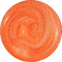 Neon UV gél - Orange sparkling