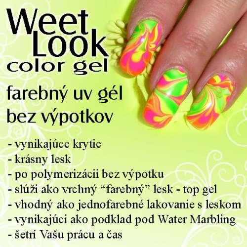 Weet Look Color uv gel