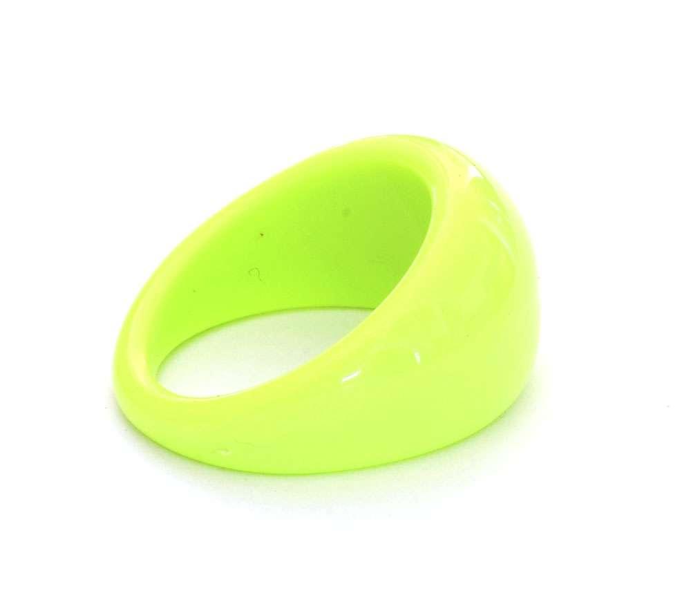 Nail Art prstienok Lime
