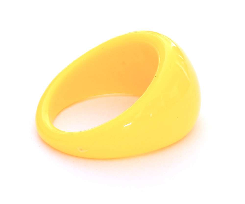 Nail Art prstienok Yellow