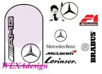 Nail Tattoos - Mercedes - 149