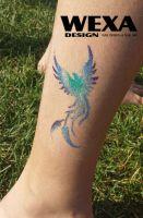 Tattoo šablónka - 51-153