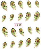 Vodolepky s trblietkami - 095