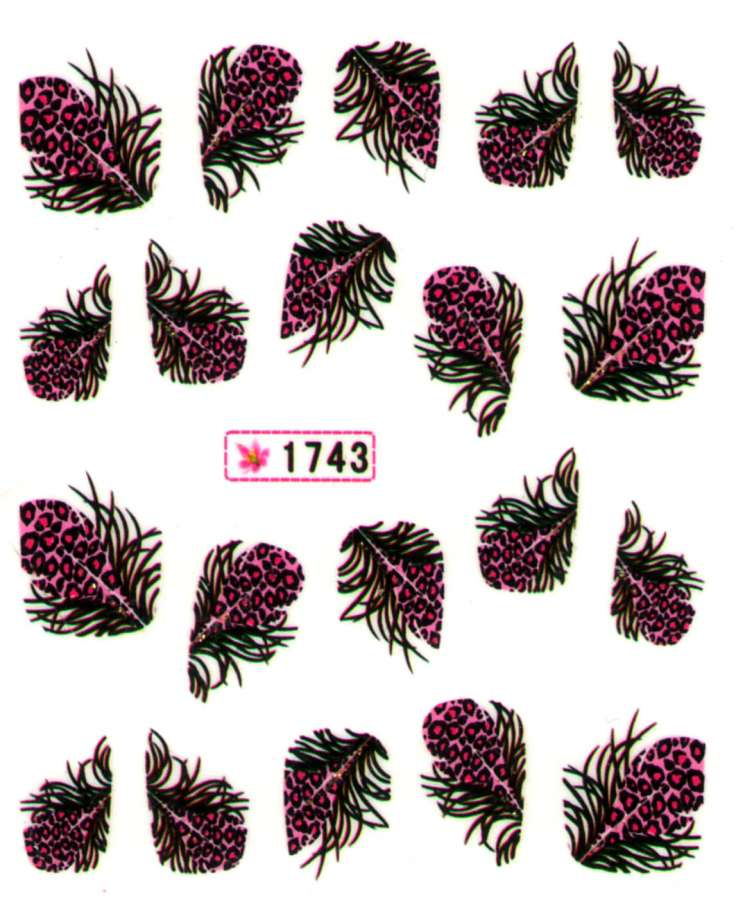 Vodolepky s trblietkami - 1743