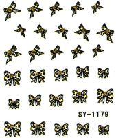 Vodolepky s trblietkami SY-1179