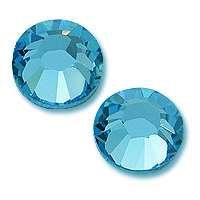 Zirkonium kamienky na nechty - Aquamarine