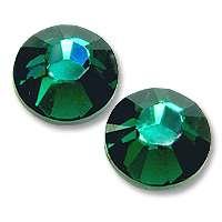 Zirkonium kamienky na nechty - Emerald