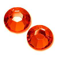 Zirkonium kamienky na nechty - Orange