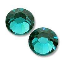 Zirkonium kamienky na nechty - Peacock Blue