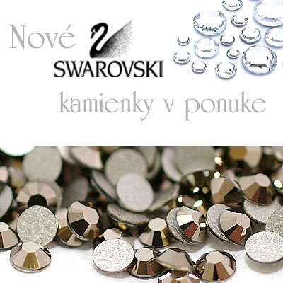 Nové farby Swarovski kamienky na nechty