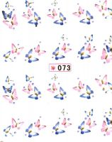 Vodolepky s trblietkami - 073