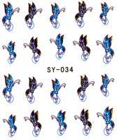 Vodolepky s trblietkami - SY-034