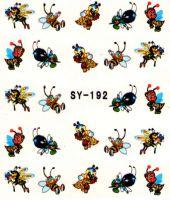 Vodolepky s trblietkami - SY-192