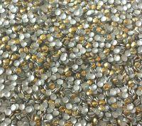 Kovová ozdoba na nechty - Gold Dots 1,5mm