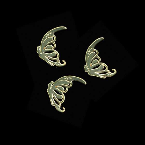 Príklepky - Butterfly Gold