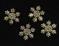 Príklepky - Snehové vločky zlaté 3