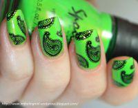 Stamping Nail Art platnička - XL I
