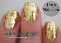 Transfer fólia - Gold starburst