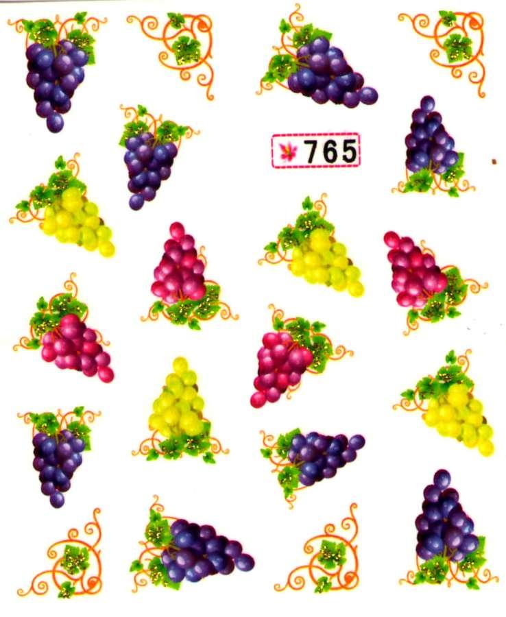 Vodolepky s trblietkami - 765