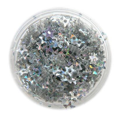 Konfety hviezdičky na zdobenie nechtov