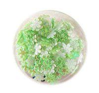 Konfety kvetinky fabrik č.7 zelenkavé