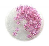 Konfety kvetinky fabrik mini č.5 magenta