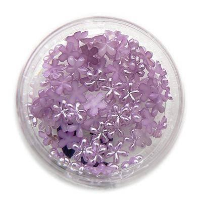 Konfety kvetinky perlové č.16