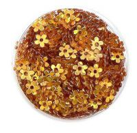 Konfety kvetinky s dierkou - 12.medené
